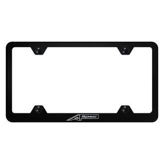 Autogold® - Wide Body License Plate Frame with Laser Etched A Spec Logo
