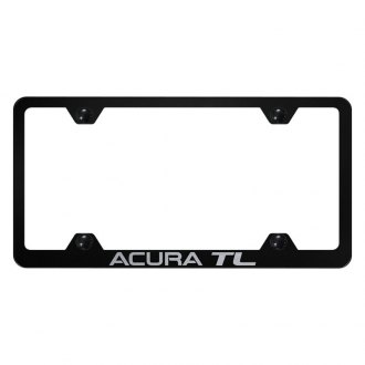 Autogold® - Wide Body License Plate Frame with Laser Etched Acura TL Logo