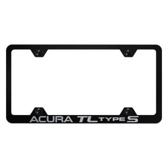 Autogold® - Wide Body License Plate Frame with Laser Etched Acura TL Type S Logo