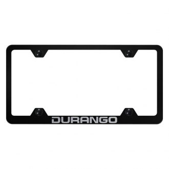 Autogold® - Wide Body License Plate Frame with Laser Etched Durango Logo