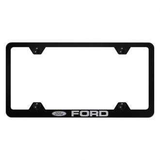 Autogold® - Wide Body License Plate Frame with Laser Etched Ford Logo