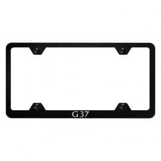 Autogold® - Wide Body License Plate Frame with Laser Etched G37 Logo