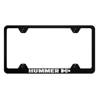 Autogold® - Wide Body License Plate Frame with Laser Etched H3 Logo