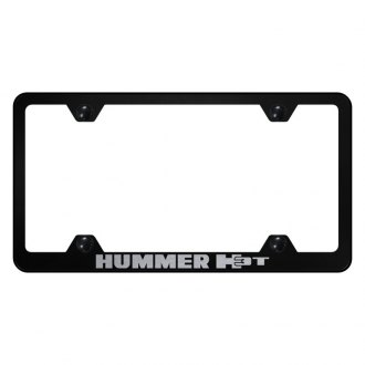 Autogold® - Wide Body License Plate Frame with Laser Etched H3T Logo