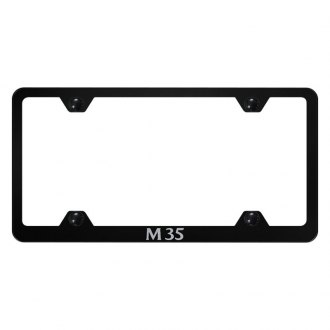 Autogold® - Wide Body License Plate Frame with Laser Etched M35 Logo