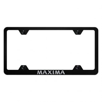 Autogold® - Wide Body License Plate Frame with Laser Etched Maxima Logo