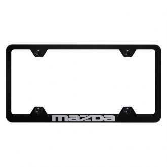 Autogold® - Wide Body License Plate Frame with Laser Etched Mazda Logo
