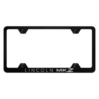 Autogold® - Wide Body License Plate Frame with Laser Etched MKZ Logo