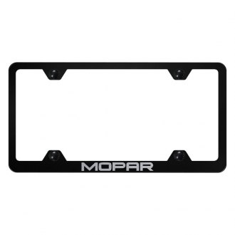 Autogold® - Wide Body License Plate Frame with Laser Etched Mopar Logo