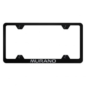 Autogold® - Wide Body License Plate Frame with Laser Etched Murano Logo