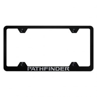 Autogold® - Wide Body License Plate Frame with Laser Etched Pathfinder Logo