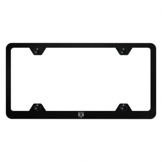 Autogold® - Wide Body License Plate Frame with Laser Etched Head Ram Logo
