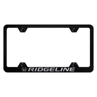 Autogold® - Wide Body License Plate Frame with Laser Etched Ridgeline Logo