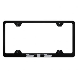 Autogold® - Wide Body License Plate Frame with Laser Etched STS Logo