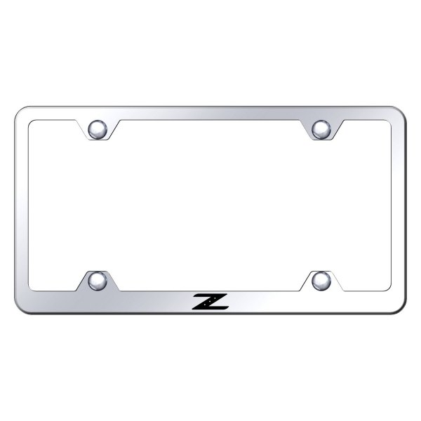 Autogold® - Wide Body License Plate Frame with Laser Etched Z Logo