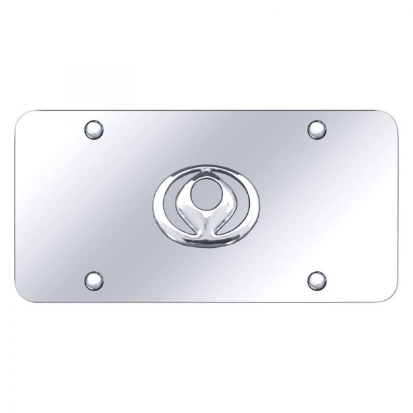 Autogold® - License Plate with Mazda Old Logo