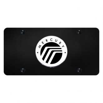 Autogold® - License Plate with 3D Mercury Emblem
