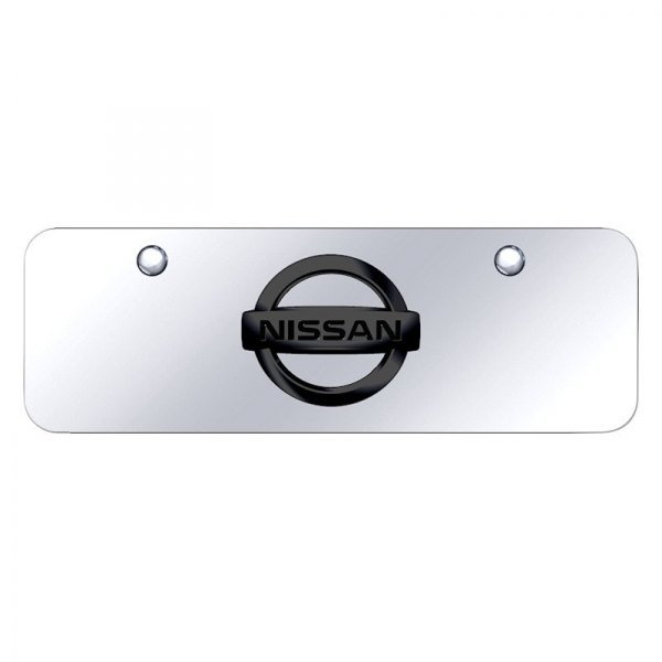 Autogold® - Mini Size License Plate with Nissan New Logo