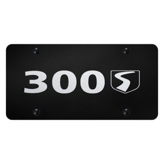 Autogold® - License Plate with Laser Etched 300S Logo