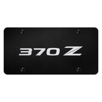 Autogold® - License Plate with 370Z New Logo