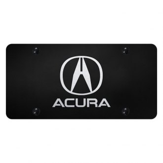 Autogold® - License Plate with Laser Etched Acura Logo and Emblem