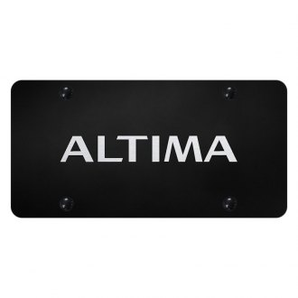 Autogold® - License Plate with Laser Etched Altima Logo