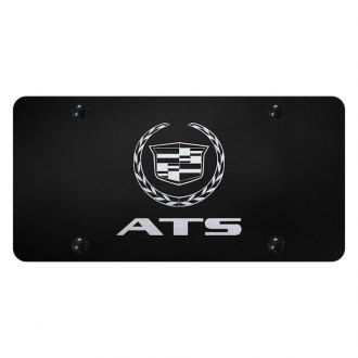 Autogold® - License Plate with Laser Etched ATS Logo