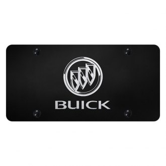 Autogold® - License Plate with Laser Etched Buick Logo