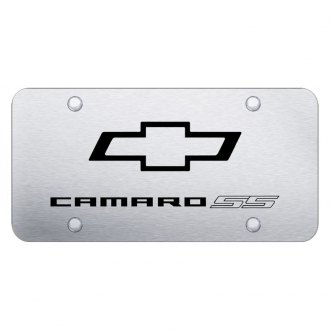 Autogold® - License Plate with Laser Etched Logo