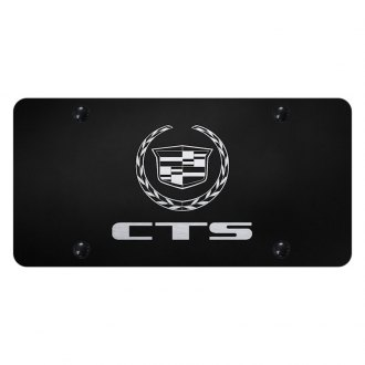Autogold® - License Plate with Laser Etched CTS Logo