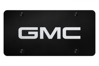 Autogold® - License Plate with Laser Etched GMC Logo