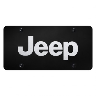 Autogold® - License Plate with Laser Etched Jeep Logo