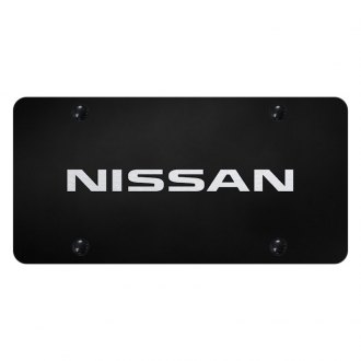 Autogold® - License Plate with Laser Etched Nissan Logo