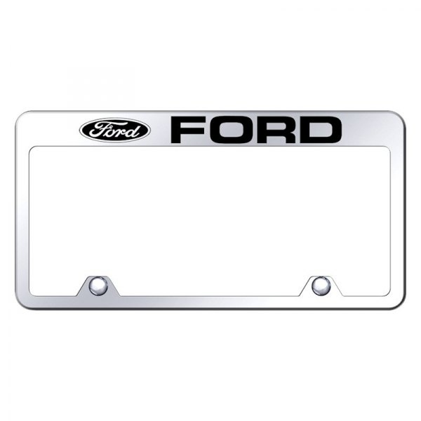 Ford Expedition Mirror Letters Only Stainless Steel License Plate