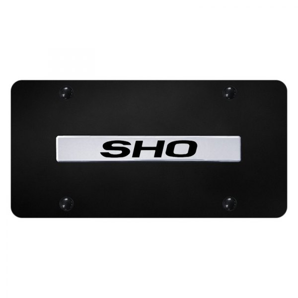 Autogold® - License Plate with 3D SHO Logo