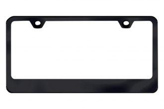 Autogold® - Thin Wide Bottom License Plate Frame