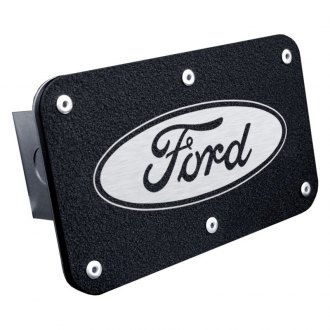 "Autogold® - Class 3 Hitch Cover with Ford Logo for 2"" Receivers"