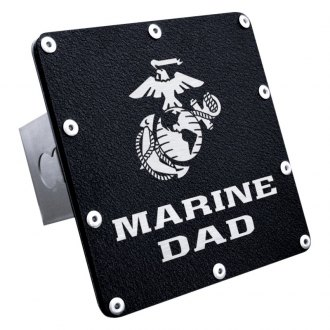 "Autogold® - Hitch Cover with Marine Dad Logo for 2"" Receivers"