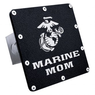 "Autogold® - Hitch Cover with Marine Mom Logo for 2"" Receivers"