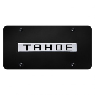 Autogold® - License Plate with Tahoe Logo