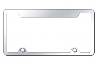 Autogold® - Wide-Top License Plate Frame