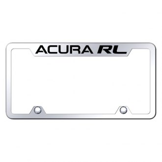 Autogold® - Truck Chrome License Plate Frame with Laser Etched Acura RL Logo
