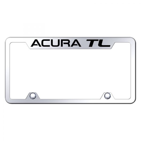 Truck Chrome License Plate Frame