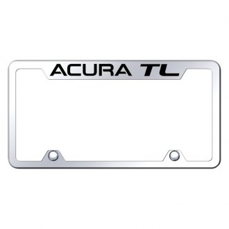 Autogold® - Truck Chrome License Plate Frame with Laser Etched Acura TL Logo