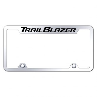 Autogold® - Truck License Plate Frame with Laser Etched Trailblazer Logo