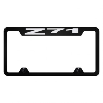 Autogold® - Truck License Plate Frame with Laser Etched Z71 Logo