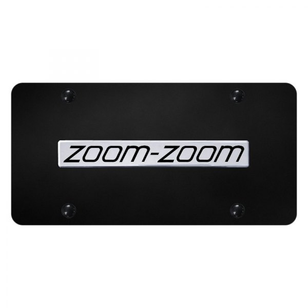 Autogold® - License Plate with Zoom-Zoom Logo