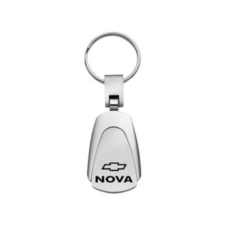 Autogold® - Nova Chrome Teardrop Key Chain