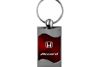 Autogold® - 4X4 Rectangular Wave Red Key Chain