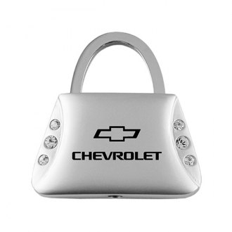 Autogold® - Chevrolet Jeweled Purse Key Chain